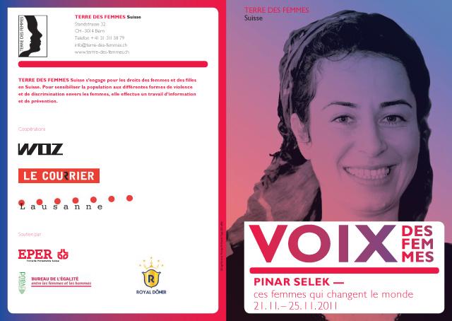 Pinar Selek Voix des femmes